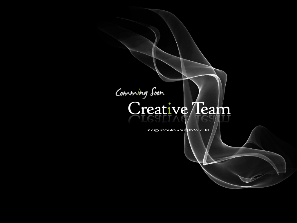 Creative-Team - Cooming Soon